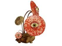 Mushroom eye Royalty Free Stock Photo