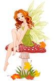 Mushroom Fairy royalty free illustration