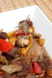 Mushroom goulash Royalty Free Stock Photo
