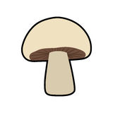 Mushroom healthy food organic food market icon. Vector graphic Royalty Free Stock Images