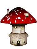 Mushroom House Royalty Free Stock Photography