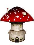Mushroom House Royalty Free Stock Photography