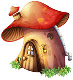 A mushroom house Royalty Free Stock Photography