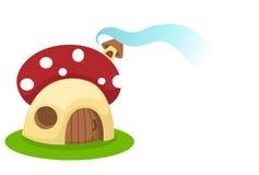 Mushroom house Royalty Free Stock Photos