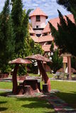 Mushroom Hut and Mansion Royalty Free Stock Photo