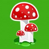 Mushroom icon Royalty Free Stock Image