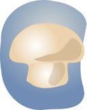 Mushroom illustration. Sketch of a mushroom. Hand-drawn lineart look illustration Royalty Free Stock Photography