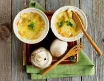 Mushroom Julienne Royalty Free Stock Image