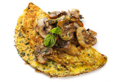 Mushroom Omelet Royalty Free Stock Photos