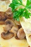 Mushroom Omelet Royalty Free Stock Photo