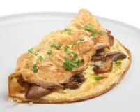 Mushroom Omelet Stock Photos