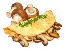 Mushroom Omelette Stock Photo