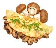 Mushroom Omelette Stock Image