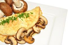 Mushroom Omelette Royalty Free Stock Photos