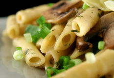 Mushroom Pasta 5 Royalty Free Stock Images