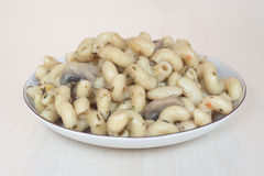 Mushroom pasta Royalty Free Stock Image