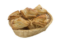 Mushroom pastry basket Stock Images