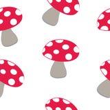 Mushroom pattern Royalty Free Stock Photo