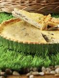 Mushroom pie 01 Royalty Free Stock Images