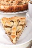 Mushroom pie and coffee Royalty Free Stock Image