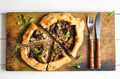 Mushroom pie Royalty Free Stock Photography