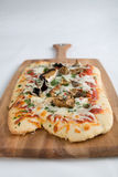 Mushroom pizza Royalty Free Stock Images