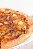 Mushroom pizza. Stock Photos
