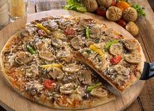 Mushroom pizza Royalty Free Stock Image