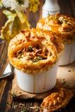 Mushroom Pot Pie Royalty Free Stock Photos