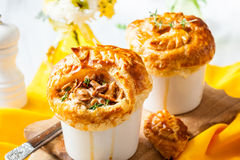 Mushroom Pot Pie Royalty Free Stock Images