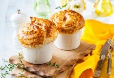 Mushroom Pot Pie Stock Photo