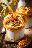 Mushroom Pot Pie Royalty Free Stock Photos