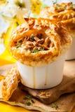 Mushroom Pot Pie Royalty Free Stock Photo