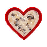 Mushroom Potato Soup Royalty Free Stock Photos