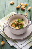 Mushroom pottage Royalty Free Stock Photos