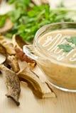Mushroom Puree Soup Stock Photography