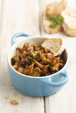 Mushroom ragout Royalty Free Stock Photo