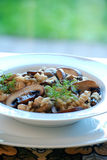 Mushroom risotto Stock Images