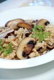 Mushroom risotto Royalty Free Stock Photo