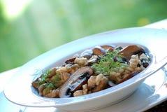 Mushroom risotto Royalty Free Stock Image