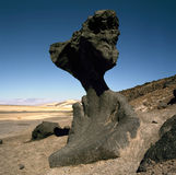 Mushroom Rock, Death Valley, California Stock Photography