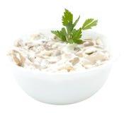 Mushroom Salad Royalty Free Stock Photography