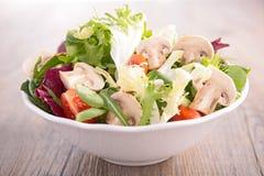 Mushroom salad Stock Photos