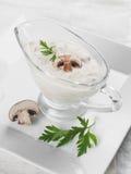 Mushroom sauce Stock Image