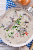 Mushroom sauce Royalty Free Stock Images