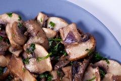 Mushroom saute Stock Photography