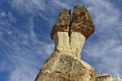 Mushroom shaped rocks in Pasabag Stock Image
