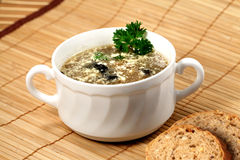 Mushroom soup Stock Images