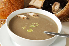Mushroom soup Royalty Free Stock Image