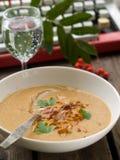 Mushroom soup Stock Photos